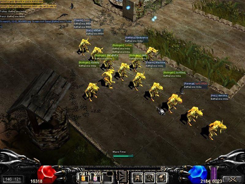 [AD] Mu BattleZone Fun 97d+99i | Exp 9999x | Max Resets 10 5
